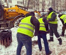 Борьба со снеговиком