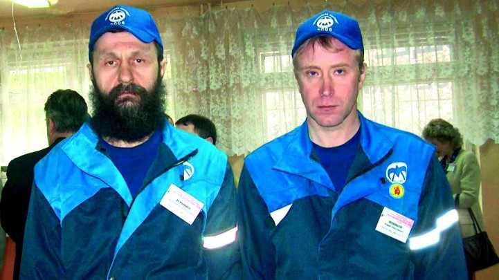 Дурынин В.А. (слева) и Новиков Ю.Н.