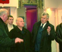 Мэр Москвы Ю.М.Лужков и МОСЛИФТ
