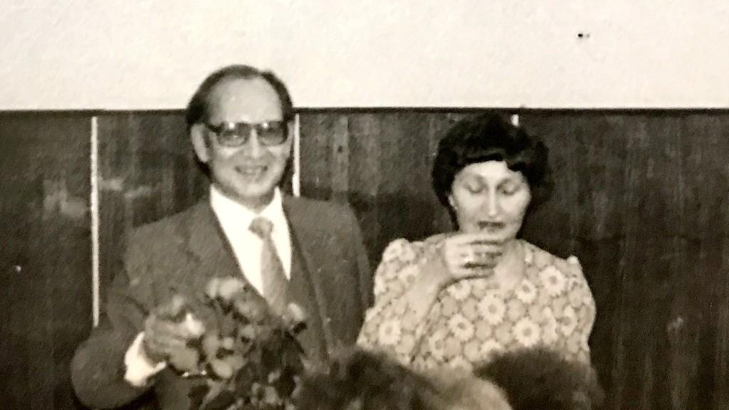Алексей Кузьмич Прокофьев с женой
